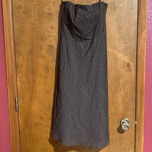 J. Crew strapless dress. NWT